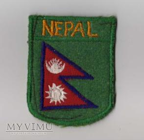 NEPAL - Naszywka przynależności państwowej