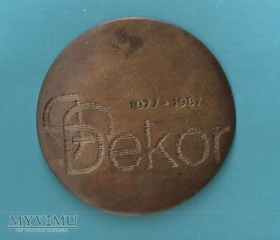 Medal okolicznościowy DEKOR CHROSLA