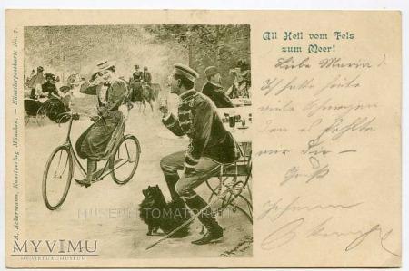 Dama na rowerze 1899