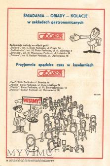 Turysto - reklama dla Ciebie z PRL...