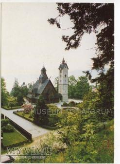Karkonosze - Bierutowice, Świątynia Wang - ok.1995