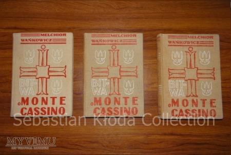 Bitwa o Monte Cassino - pierwsze wydanie