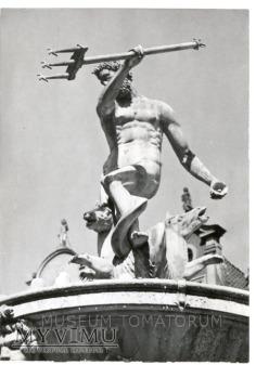 Gdańsk- Posąg Neptuna - 1962