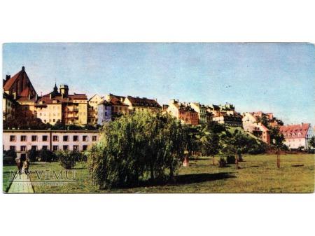 Warszawa Panorama Starego Miasta