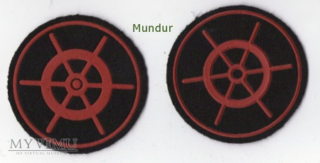 Oznaka specjalisty MW - sternik