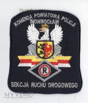 Oznaka KPP INOWROCŁAW - sekcja ruchu drogowego