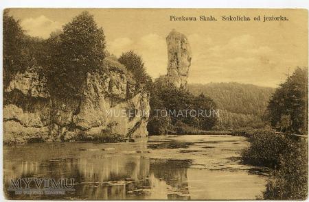 Pieskowa Skała -Sokolica - początek XX w.