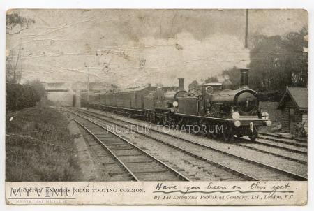 Brighton Express near Tooting Common - 1918