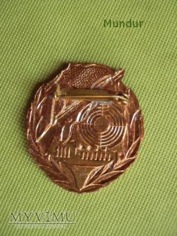 Odznaka: Schießabzeichen der Kampfgruppen - brąz