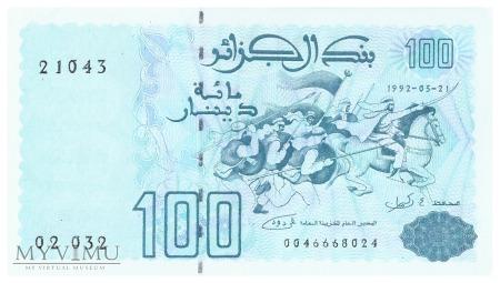 Algieria - 100 dinarów (1992)