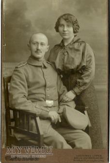 Żołnierz z żoną