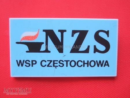 Znaczek NZS WSP Częstochowa