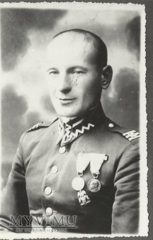 Plutonowy Michał Fijałkowski z 25 Pułku Ułanow W