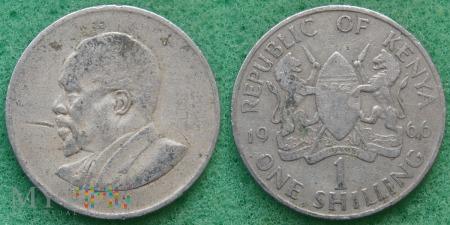 Kenia, 1 SHILLING 1966