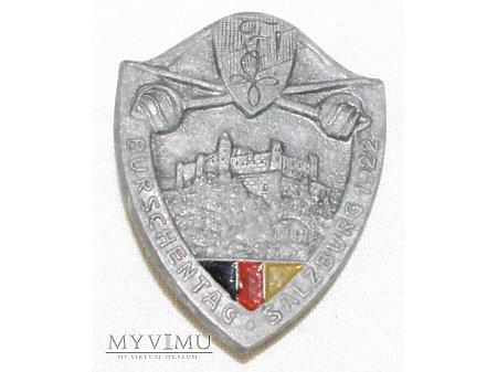 Odznaka Burchenstag Salzburg 1922