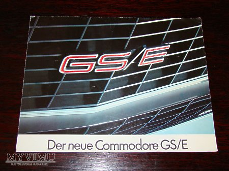 Prospekt OPEL COMMODORE GS/E