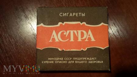 Papierosy ASTRA ( АСТРА ) 1981 r.