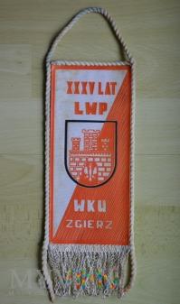 Proporczyk - WKU i OHP Zgierz