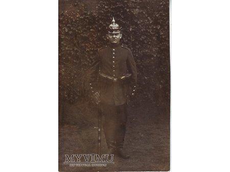 Żołnierz pruski pochodzący z Wągrowca