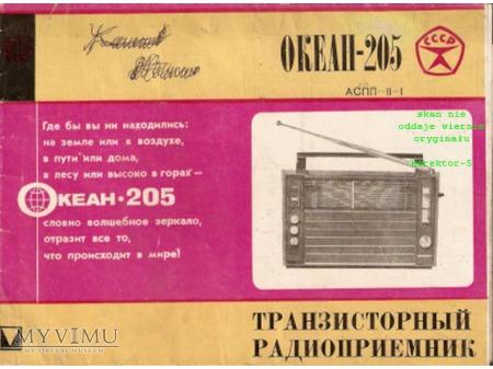 Instrukcja radia OKEAN