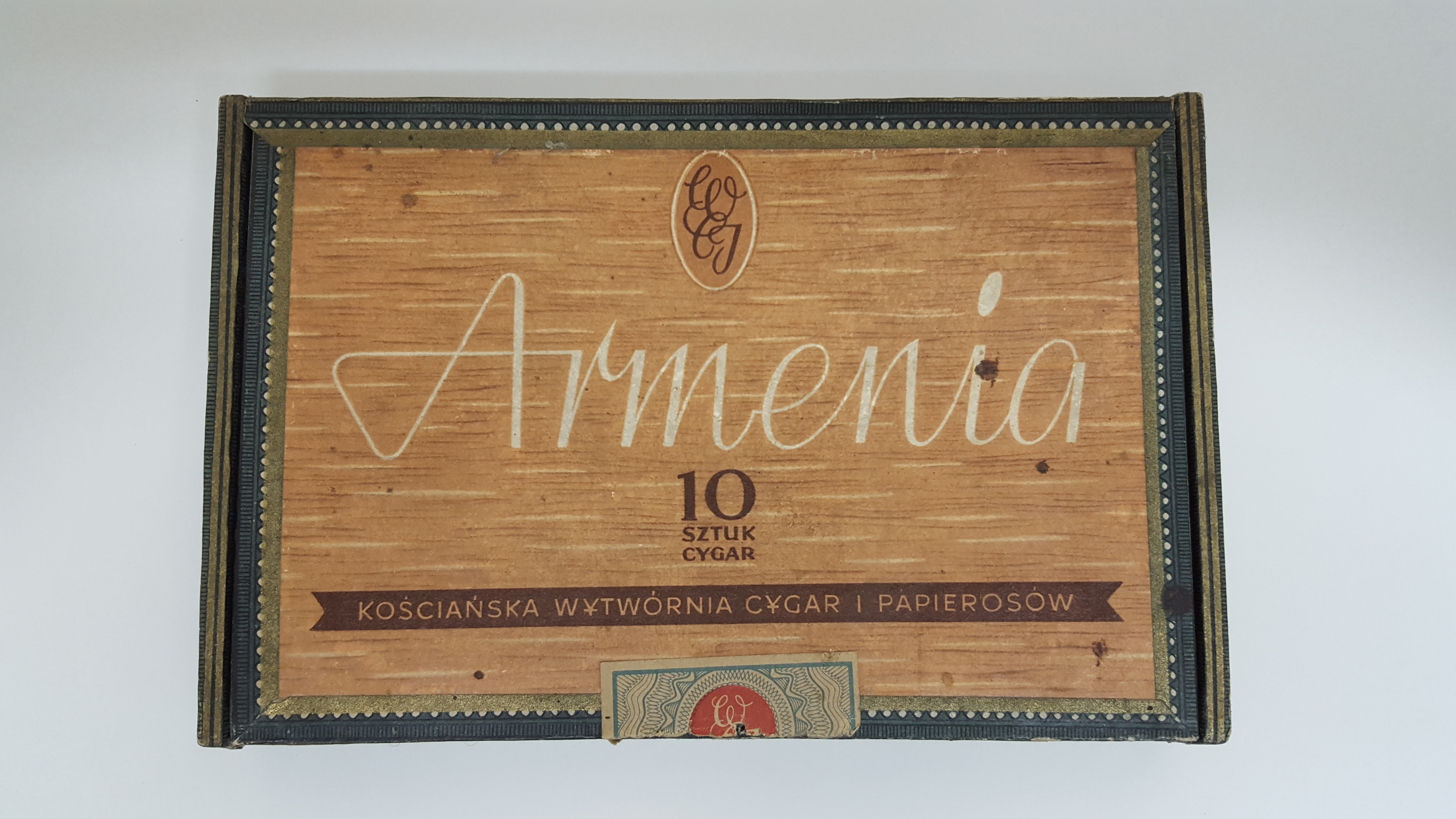 Najnowsze Cygara ARMENIA - pudełko Cena w Kolekcja Papierosów Patricco w AT28