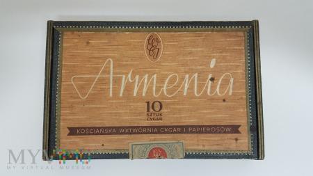 Cygara ARMENIA - pudełko Cena 17 zł