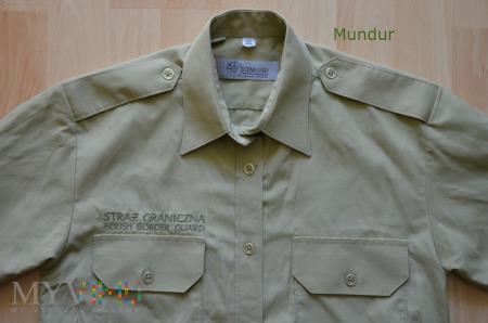 Duże zdjęcie Koszula służbowa SG z haftowanym napisem SG