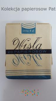 Duże zdjęcie Papierosy WISŁA 1965 r. Cena 4 zł.