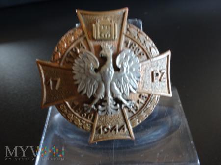 Numerowana Odznaka 17 Pułk Zmechanizowany