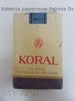 Papierosy KORAL 1982 rok. Poznań