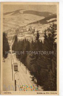 Krynica - Kolejka na Górę Parkową- 1950