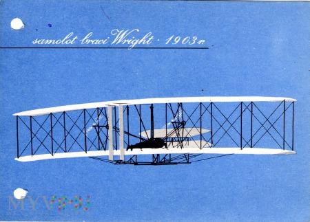 samolot braci Wright 1903 r.