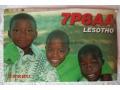 Lesotho Karta QSL