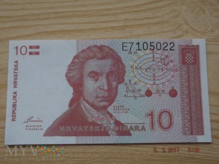 10 dinarów