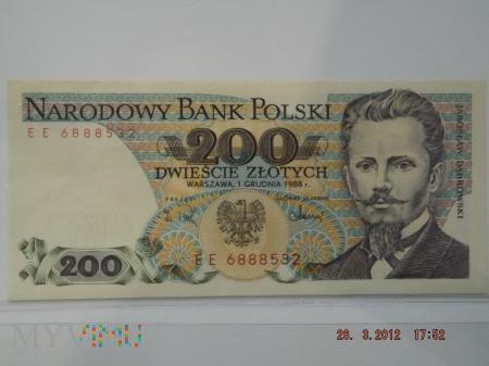 200 złotych PRL