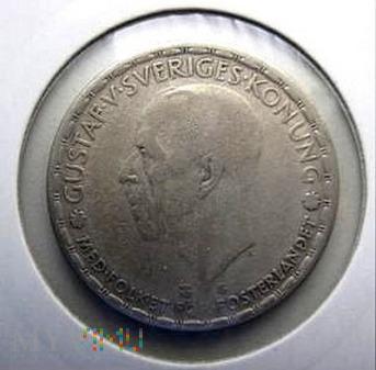 Duże zdjęcie 1 korona 1944 r. Szwecja