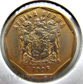 50 centów 1996 r. Afryka Południowa