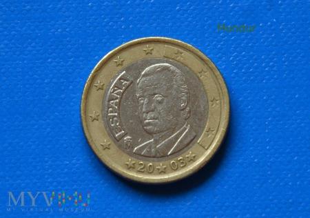 Moneta: 1 euro ESPANA 2003