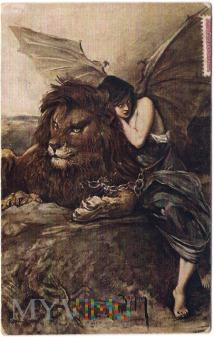 Koppay - Siła i Podstęp - Akt z lwem - 1918