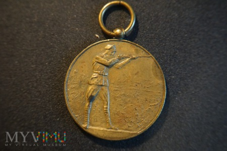 Duże zdjęcie Medal - Strzelanie z pozycji ,,stojąc'' - 1929r.