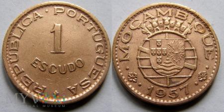 Mozambik, 1 Escudo 1957