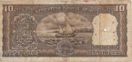 INDIE 10 RUPII 1977