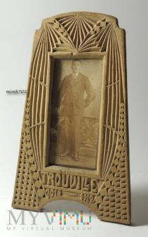 Zdjęcie w drewnianej ramce Trouville 1918-1919