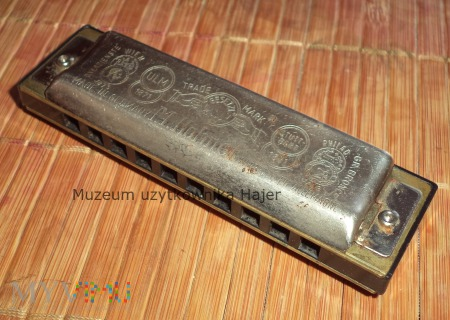 Hohner Big River Harp C Made in Germany