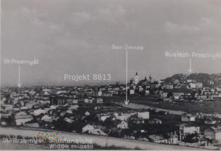 Deutsch Przemyśl, San Grenze, Rusisch Przemyśl.