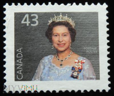Kanada 43c Elżbieta II