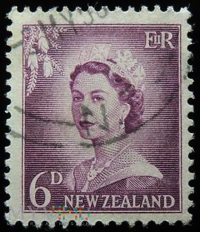 Nowa Zelandia 6D Elżbieta II