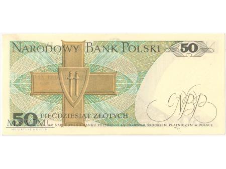 50 złotych 1975 rok seria L