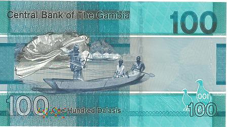 Gambia - 100 dalasis (2019)
