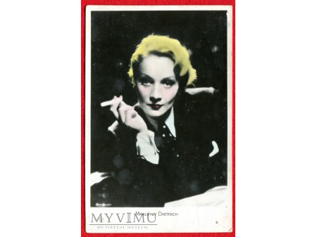 Marlene Dietrich MARLENA ERRES nr 9